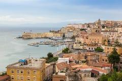 Medieval town of Gaeta, Lazio, Italy Stock Image