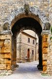 Medieval town gate Royalty Free Stock Photography
