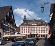 Medieval Town in Germany Stock Photos