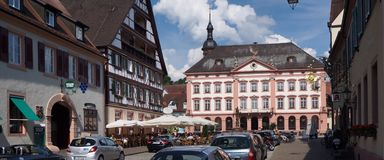 Medieval Town in Germany Stock Photography