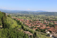 Medieval Town Gubbio in Umbria Royalty Free Stock Photography
