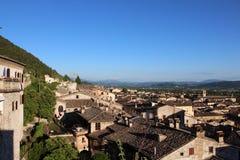 Medieval Town Gubbio in Umbria Royalty Free Stock Photo