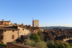 Medieval Town Gubbio in Umbria Royalty Free Stock Image