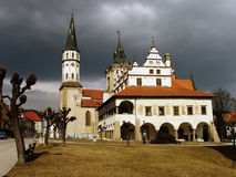 Medieval Town Hall Stock Photography