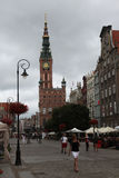 Medieval town hall in Gdansk, Poland. Stock Image