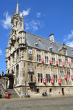 Medieval town hall in Gouda the Netherlands Stock Photography