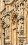 Medieval town hall in Leuven Belgium Stock Image