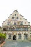 Medieval Town Hall Lindau Stock Image