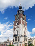 Medieval Town Hall tower Royalty Free Stock Photography