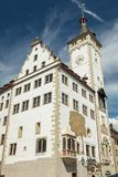 Medieval town hall of Wuerzburg. Bavaria, Germany Royalty Free Stock Image