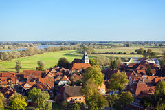 Medieval town of Hitzacker Royalty Free Stock Photography