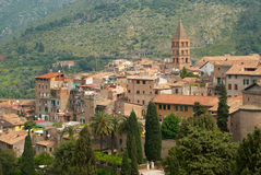 Medieval town in Italy Royalty Free Stock Photos