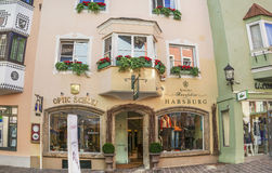 Medieval town of Kitzbuhel, Tirol Stock Photography