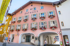 Medieval town of Kitzbuhel, Tirol Stock Photo