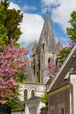 Medieval town of Loches. France Stock Photo