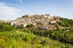Medieval town Loreto Aprutino, Abruzzo, Italy Stock Images