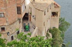 Medieval town Miravet Royalty Free Stock Photos