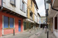 Medieval town Mirepoix Stock Photos