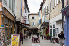 Medieval town Mirepoix Royalty Free Stock Images