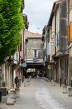 Medieval town Mirepoix Stock Photo