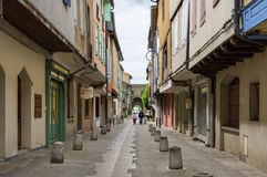 Medieval town Mirepoix Stock Images