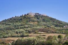 Medieval town Motovun Stock Image