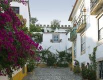 Medieval town Obidos Stock Image