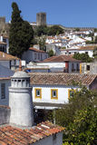 Medieval Town of Obidos - Portugal Royalty Free Stock Photo