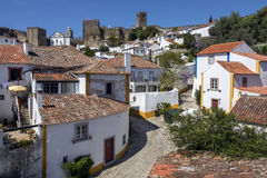 Medieval Town of Obidos - Portugal Royalty Free Stock Images