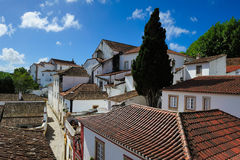 Medieval town Obidos, Portugal Royalty Free Stock Image