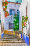Medieval town of Obidos, Portugal Royalty Free Stock Image