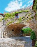 Medieval town  Peratallada , Spain Stock Image