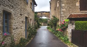 Medieval town Rocamadour royalty free stock photo