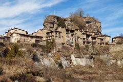Medieval town of Rupit Royalty Free Stock Photos