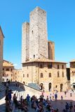 The medieval town of San Gimignano in Tuscany, Italy Royalty Free Stock Image