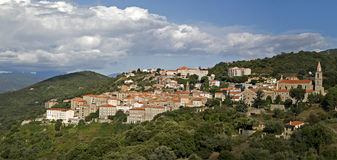 Medieval town of Sartene, Southern Corsica, France Royalty Free Stock Photography