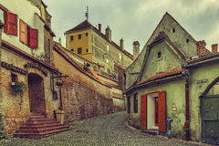 Medieval town Stock Photography