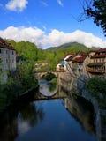 Medieval town Skofja Loka Royalty Free Stock Image