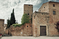 Medieval town, Spain Royalty Free Stock Photo
