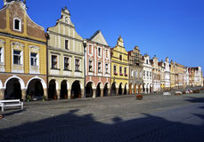 Medieval Town  Square Royalty Free Stock Photography