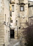 Medieval town street Stock Photography