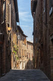 The medieval town of Torrita di Siena in Tuscany, Italy Royalty Free Stock Images