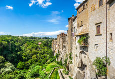 Medieval town of Vitorchiano in Lazio, Italy Royalty Free Stock Photos