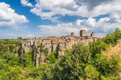 Medieval town of Vitorchiano in Lazio, Italy Royalty Free Stock Photo