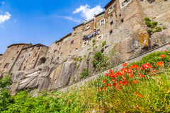 Medieval town of Vitorchiano in Lazio, Italy Stock Photo