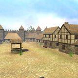 Medieval town9 Stock Images