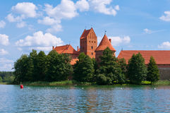 Medieval Trakai Castle Royalty Free Stock Photo