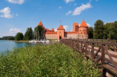 Medieval Trakai Castle Royalty Free Stock Photos