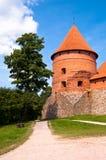 Medieval Trakai Castle near Vilnius, Lithuania. Royalty Free Stock Photo