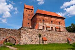 Medieval Trakai Castle near Vilnius, Lithuania. Royalty Free Stock Photography